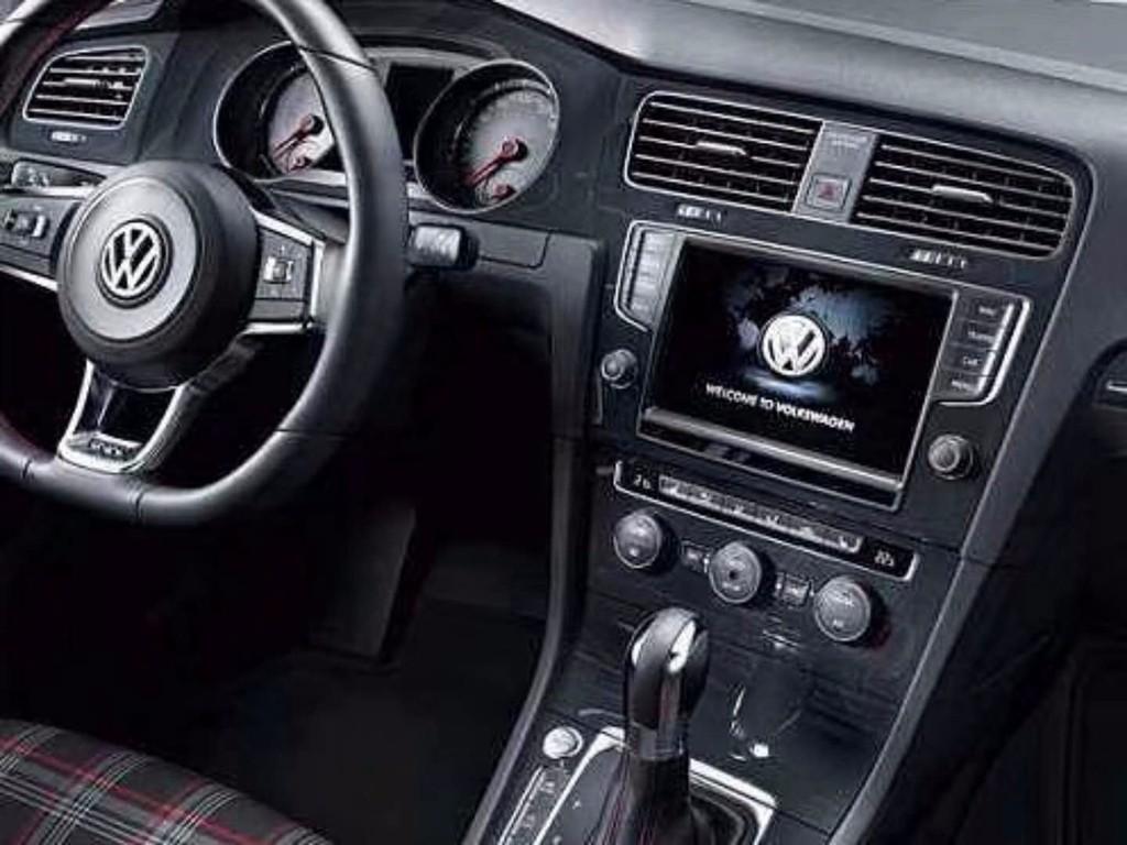 大众高尔夫7汽车音响改装 德国艾索特es165两分频喇叭