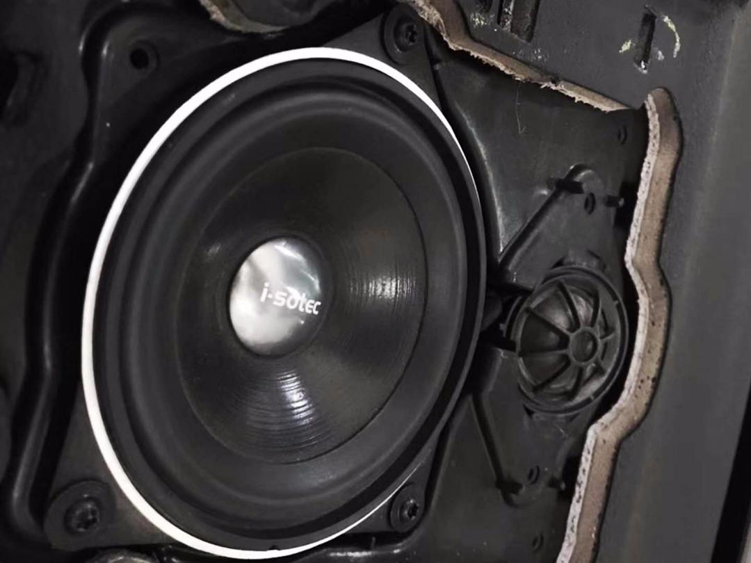 宝马x5汽车音响改装 德国艾索特宝马专车专用喇叭